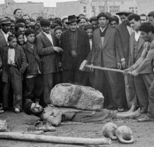 معرکه گیری پهلوان در تهران قدیم